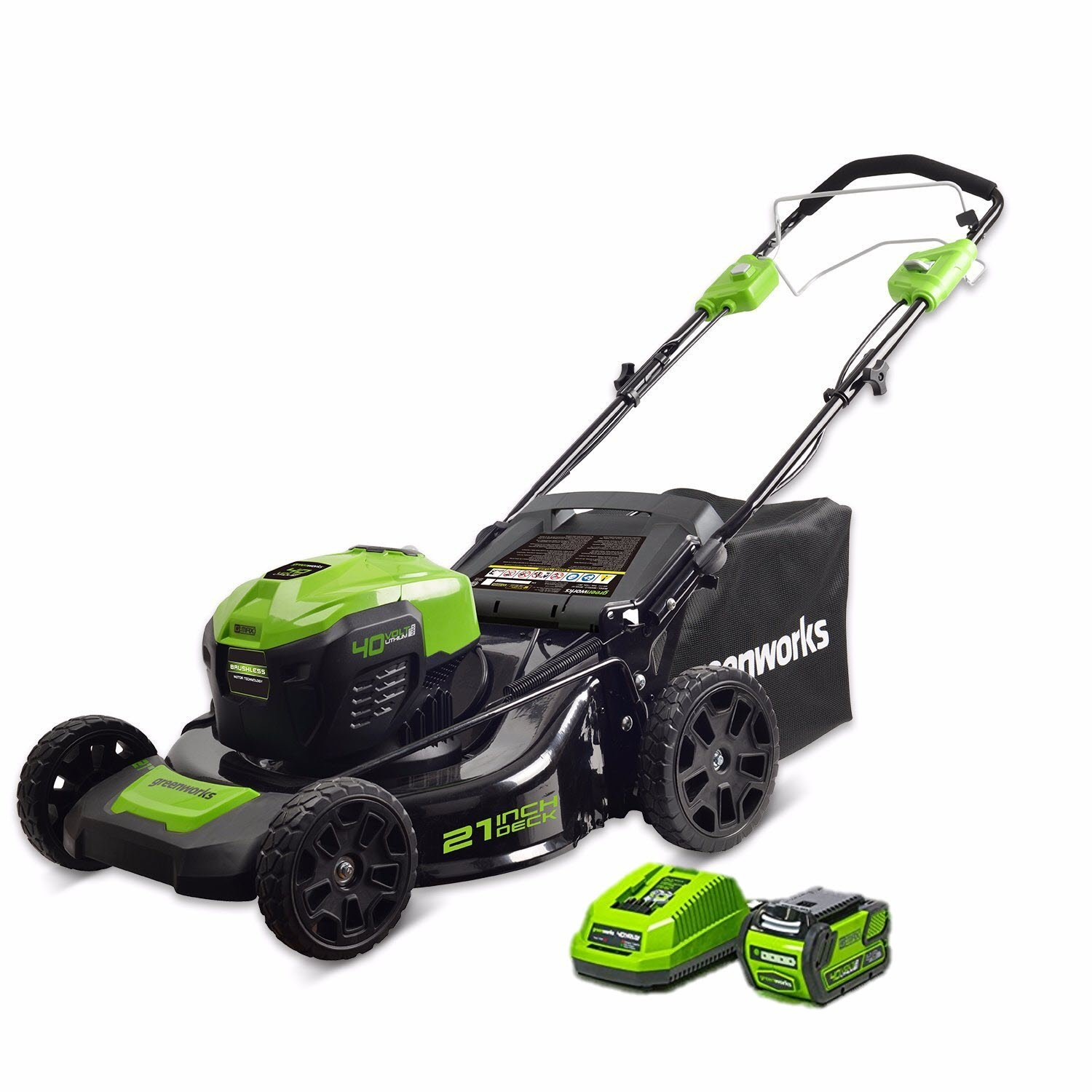 Greenworks Self-Propelled Cordless Lawn Mower Review