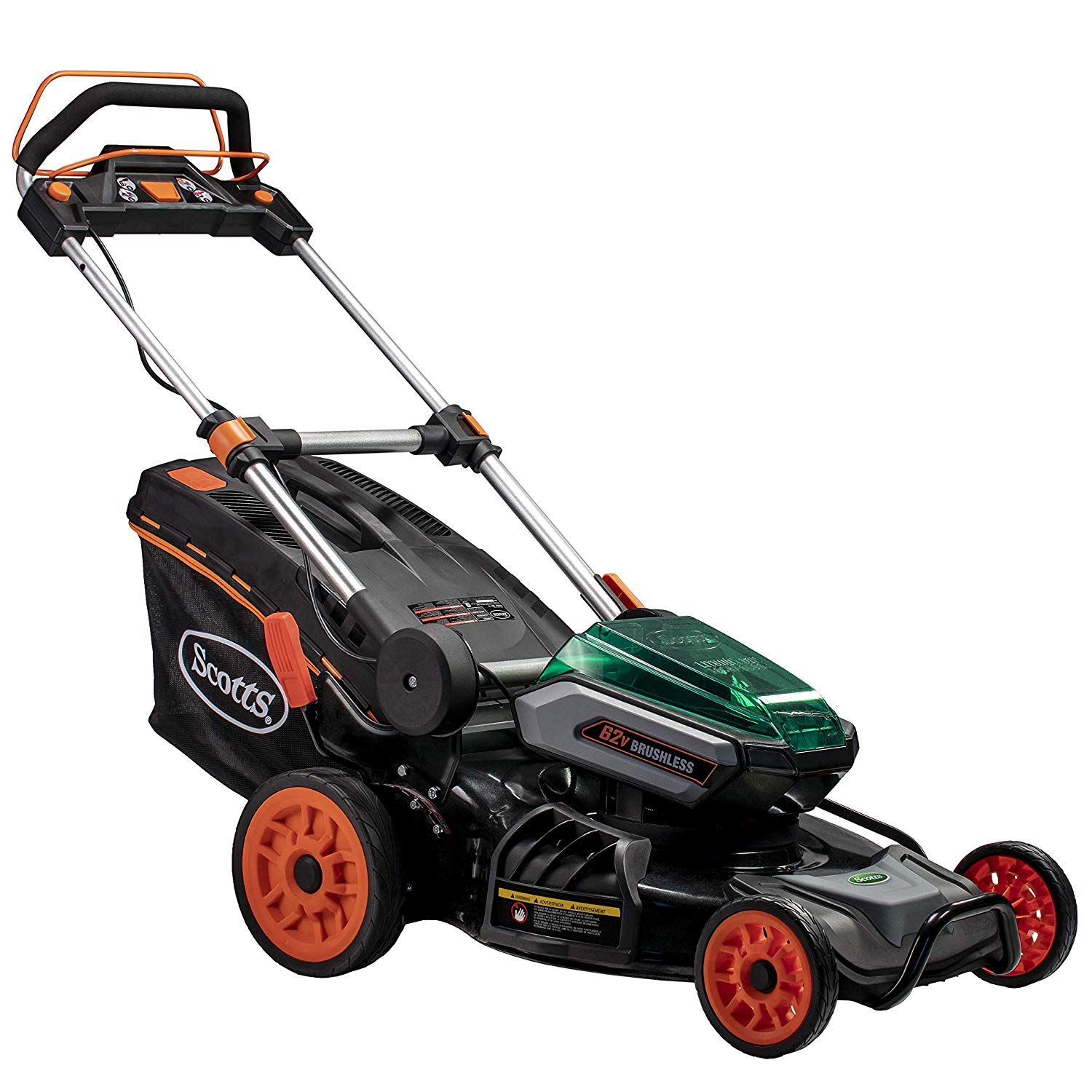 Scotts 60362S Cordless Self-Propelled Lawn Mower review