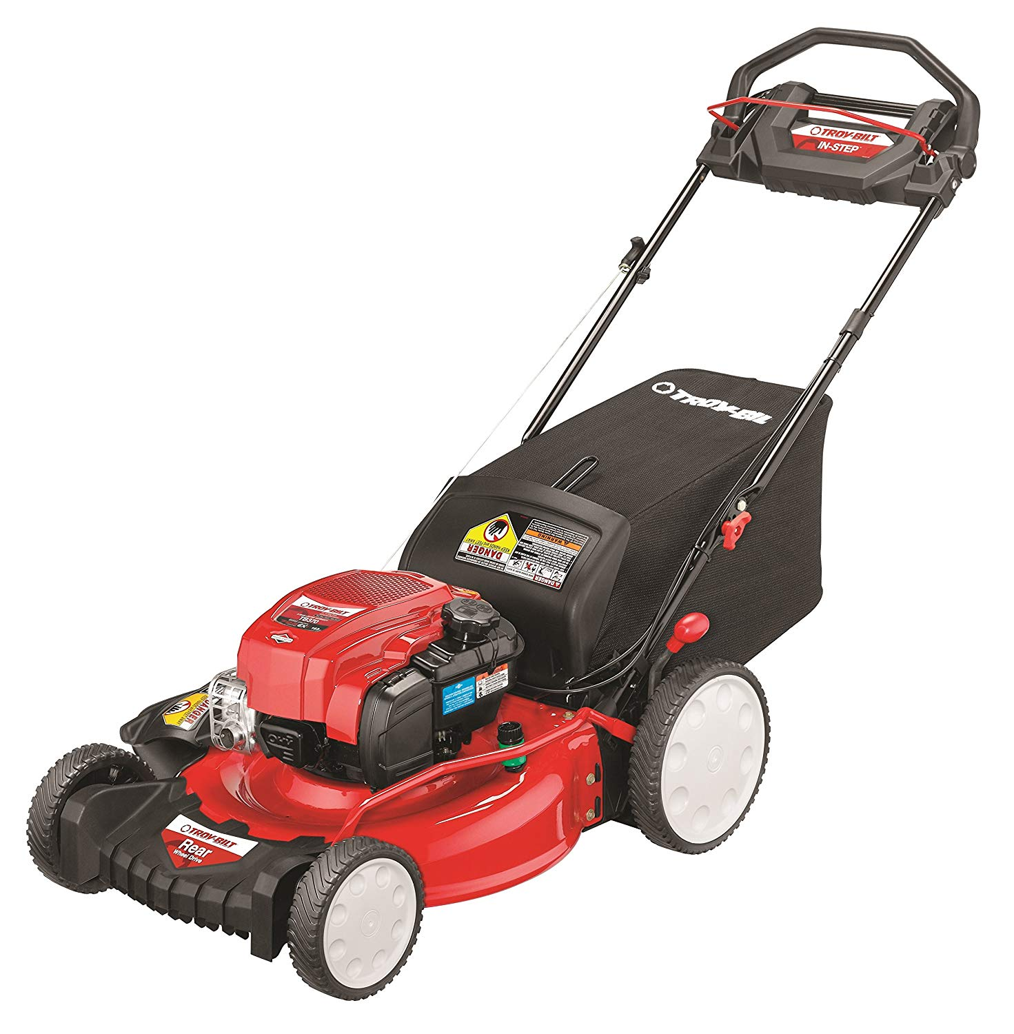 Troy-Bilt TB370 Step RWD Self-Propelled Lawn Mower review