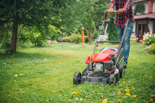 Greenworks 20-Inch 40V Twin Force Cordless Lawn Mower, 4.0Ah & 2.0 Ah Batteries Included 25302